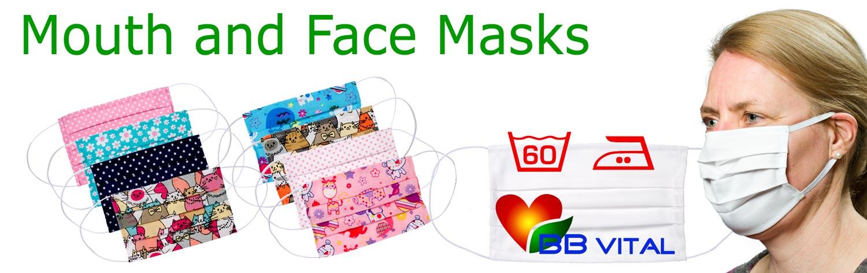 Mundmasken und Nasenmasken